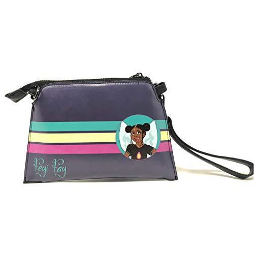 Faux Leather Shoulder Bag for Girls   Wristlet   Hand Bag   Purse
