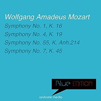 Blue Edition - Mozart: Symphonies Nos. 1, 4, 55 & 7