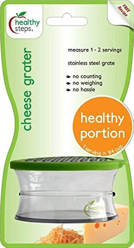 Jokari Healthy Steps Portion Control Cheese Grater