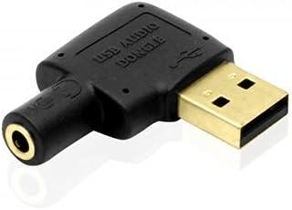 Laileya USB Externo de 3,5 mm Tarjeta de Sonido de 7.1 Canales de Audio 3D Adaptador del micr/ófono del Auricular de Repuesto para PC de Escritorio port/átil