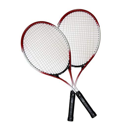 Nueva Raqueta de Tenis de Aluminio 27 Pulgadas (Aproximadamente 68,6 cm), Raqueta de Entrenamiento Deportivo Universitario