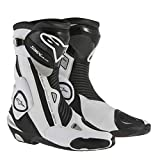 Alpinestars Stivali Moto Racing S-MX Plus Nero Bianco 40