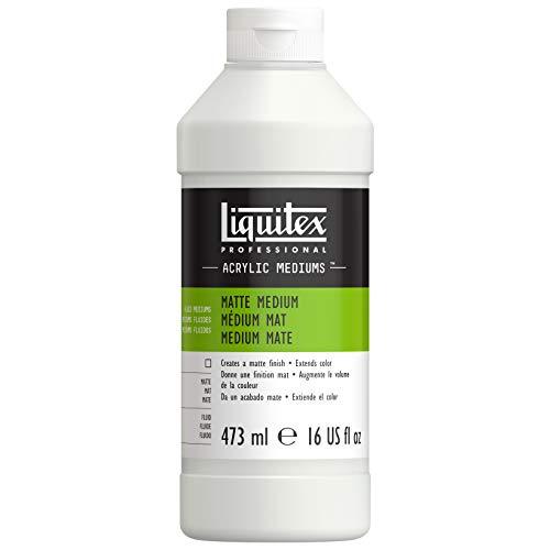 Liquitex Professional - Líquido para crear acabados mate (473 ml)