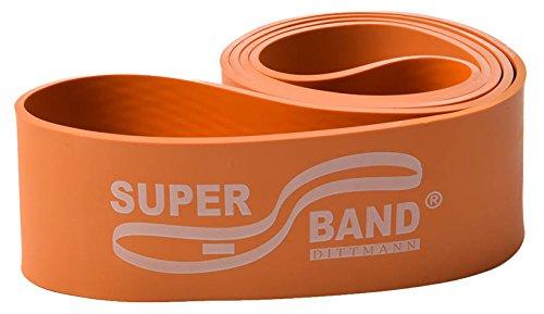 Superband XXHEAVY oranje Lev 6 stretching spierversterking rek gymnastiekband