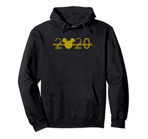 Disney Mickey Mouse Ears New Years Gold 2020 Sweat à Capuche