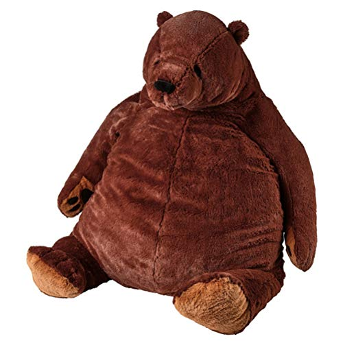Juguete de oso, juguete gigante de simulación, juguete de peluche marrón, juguete de peluche de peluche, muñeca de peluche de peluche, regalo de cumpleaños para niños