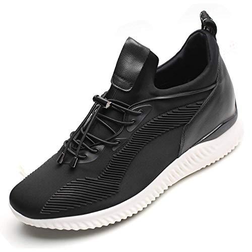 CHAMARIPA CHAMARIPA Elevator Schuhe Sneakers Sport Casual Leichte Schuhe mit versteckten Lift Heel für Mann-7 cm Taller-H71C62V012D