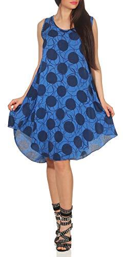 Matyfashion trendy zomerjurk strandjurk maxi-jurk met toppen vrijetijdsjurk 36