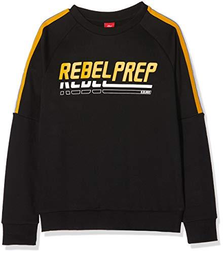 s.Oliver RED Label Jungen Sweatshirt mit Frontprint Black M.REG