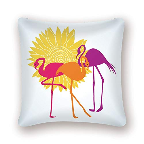 nobrand Flamingo Tropical Plant Kissenbezug Dekokissen Tukan Pink Nordic Home Decoration Sofa Dekorativer Kissenbezug LN081 45 * 45cm