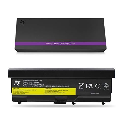 Lenovo T410 Batterie 9-Zoll, AYIPE Hochleistungs Ersatz Laptop Akku für Lenovo IBM Thinkpad E40 E50 0578 T410 T420 T510 T520 W510 W520 E420 E425 E520 E525 L410 L412 L420(Nicht für T530/W530)