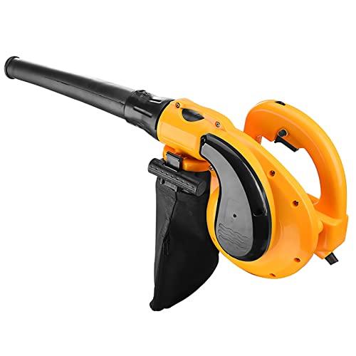 GFDDZ Soplador de Hojas eléctrico 2 en 1, barredora de Mano con Control de Velocidad Variable 6, Adecuado para el jardín del hogar, la Oficina, el Taller y Otros Lugares
