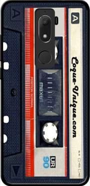 Mobilinnov - Carcasa de silicona para Wiko View Prime (antigolpes, protección irrompible), compatible con Wiko View Prime, color Cassette audio K7