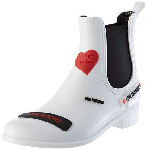 Love Moschino Bottines pour femme Blanc Blanc 40 EU