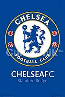 Personalized Design of tin Sign 12x16inches,Chelsea FC Club Crest - Stamford Bridge,Retro Tin Sign Wall Decoration Metal Signage Sign Plaque Metal Antique