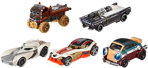 Hot Wheels - Star Wars Heroes Of The Resistance 5 Pack Set - Exclusive Vehicle