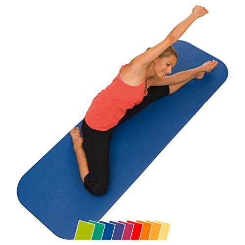 AIREX Coronella 185, Gymnastikmatte, blau, ca. 185 x 60 x 1,5 cm