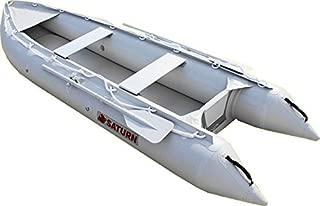 Saturn 12 ft Kaboat SK396 Inflatable Kayak / Motor Boat Crossover - Gray