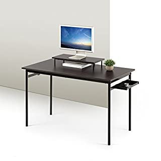 Zinus Tresa Computer Desk / Workstation in Espresso, Small (B0785QHZ8J)   Amazon price tracker / tracking, Amazon price history charts, Amazon price watches, Amazon price drop alerts