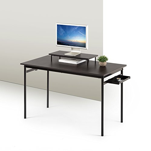 Zinus Tresa Computer Desk / Workstation in Espresso, Small
