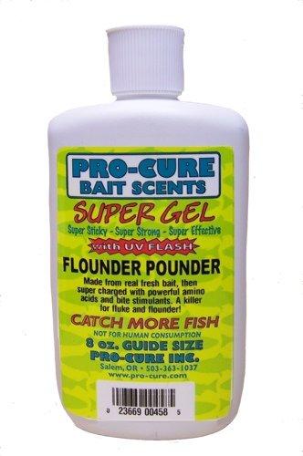 Pro-Cure Flounder Pounder Super Gel, 8 Ounce