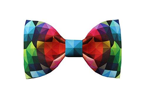 Design Tie Haut Luxe Noeud Papillon Avec Colore Printing Bow