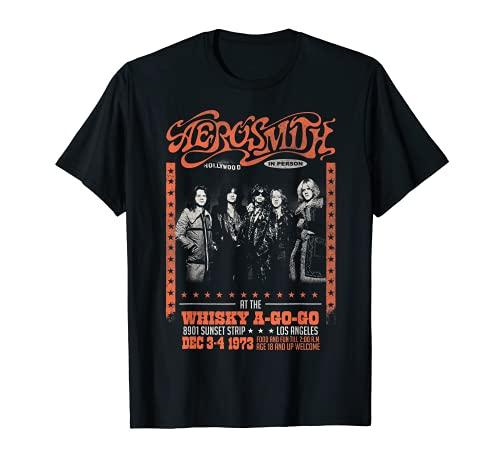 Aerosmith - Whisky A Go Go T-Shirt