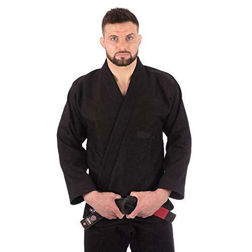 Tatami BJJ Gi - Kimono brasileño negro de Jiu Jitsu Gi (A2)