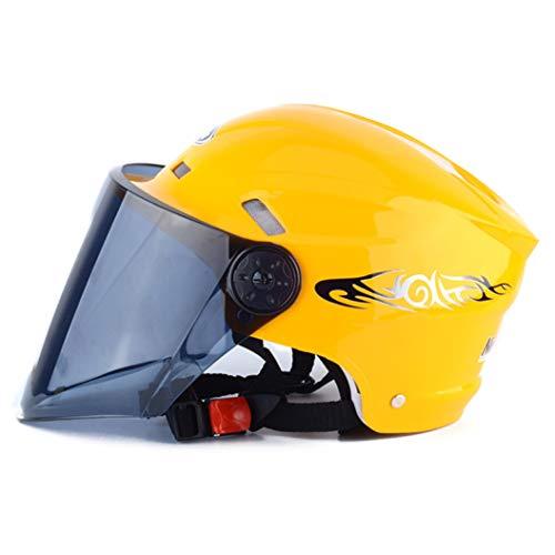 OLEEKA Casco de Ciclismo de Bicicleta Casco de Motocicleta Batería Unisex Casco de Moto Casco de equitación Cascos de Seguridad Hombres Mujeres