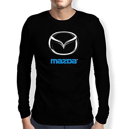 Mercedes 3 Camiseta Hombre Coche Clipart Car Auto tee Top Negro Mangas Largas Cortas Presente