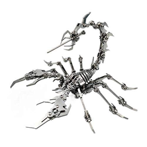 Wollet Metal Scorpion Model Kit for Adult Beginners to Build