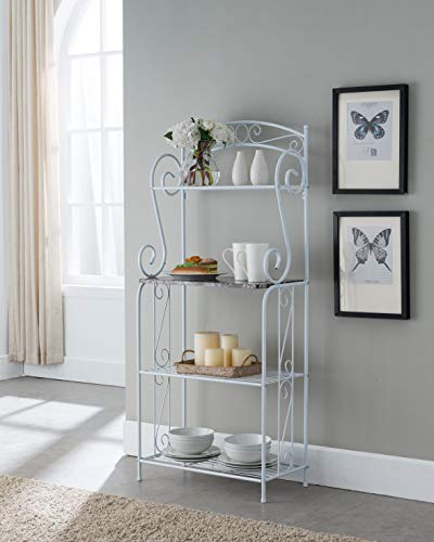 Kings Brand Furniture - Bulberry Metal Kitchen Storage...