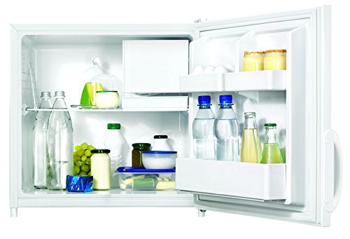 Zanussi ZRX71100WA - Frigorífico (A+, 52 cm de altura, 110 kWh/año, 62 L, compartimento congelador de 5 L, rejilla de almacenamiento, color blanco