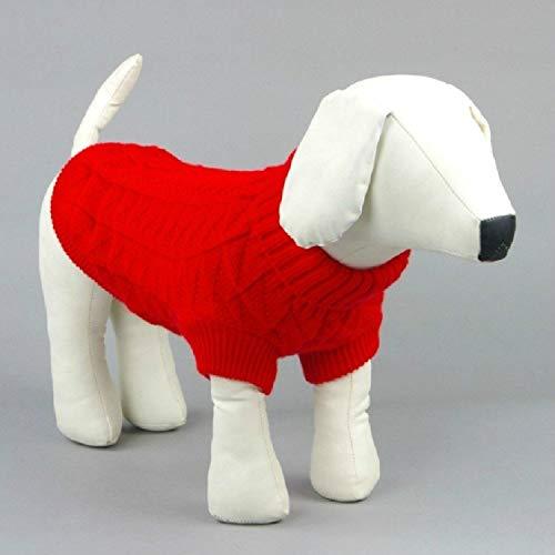 Ropa personalizada para perros Ropa del perro casero, suéter caliente sólido blando for perros ropa for perros suéter de color, for abrigos for perros suéter del animal doméstico chaquetas con capucha