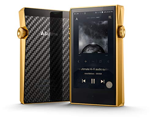 Astell&Kern A&Ultima SP1000M High Resolution Digital Portable Audio Player, Royal Gold