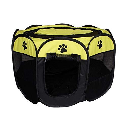 Caseta de Perro, Carpa plegable for mascotas Dog House jaula del animal doméstico de la cama la tienda portable del gato del perro del perrito de la perrera Parque infantil Valla envío de la gota fáci