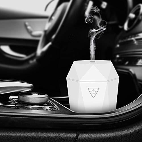 Diffusore Auto Umidificatore di Oli Essenziali, senza acqua, Spegnimento Automatico per Auto o casa