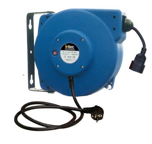 Intec ITE615 Elektrische kabelhaspel van kunststof