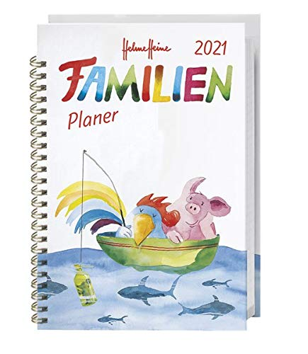 Helme Heine Familienplaner Buch A5 Kalender 2021
