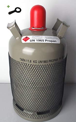 11 kg Gasflasche Eigentumsflasche Propangasflasche LEER/ungefüllt Neu