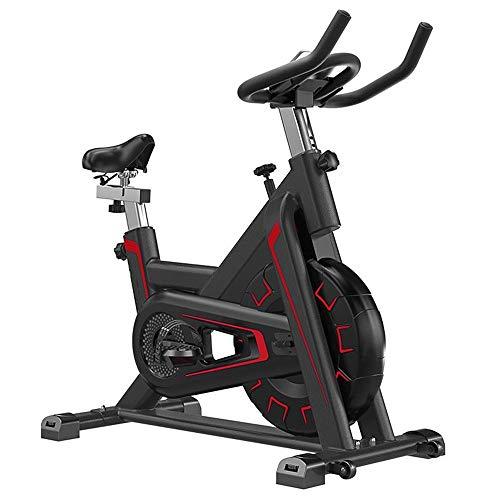 Yuefensu Bicicleta Totalmente Envuelta Volante con Alta Seguridad Interior Ciclismo silencioso de Bicicleta de Ejercicios Fitness Equipment (Color : Red, Size : 112.5x55x88.5cm)