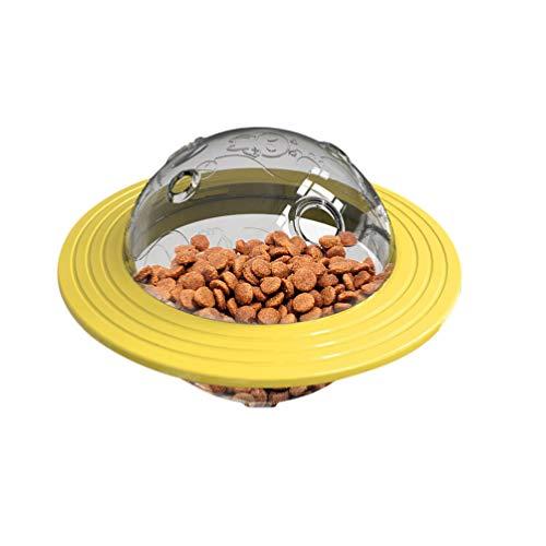 Balacoo Anti Schling Napf Fressnapf Hundenapf Runde Puzzle Futternapf Wassernapf Langsame Fütterung für Hund Katze Haustier Hund Feeder Spielzeug