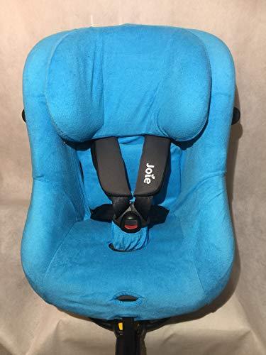 Sommerbezug Schonbezug für Joie Spin 360 GT und I-Spin 360 Frottee 100% Baumwolle türkis