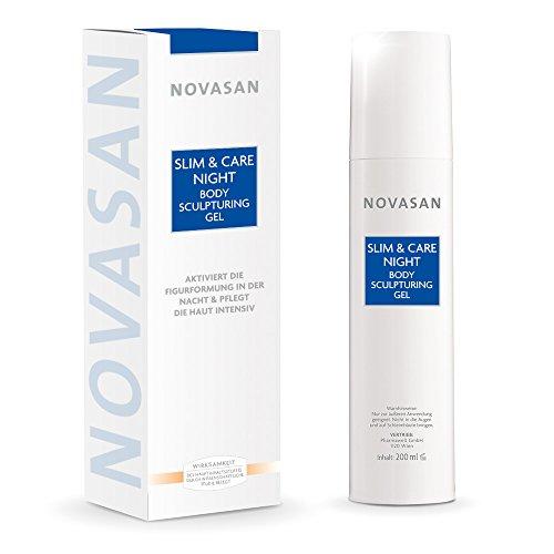 """NOVASAN® Night Body Sculpturing Gel • Abnehmen im Schlaf: """"Fett weg"""" Hightech Gel zur nächtlichen Umfangreduktion an Bauch, Bein und Po • hilft, die Haut zu straffen • pflegt intensiv • 200ml"""