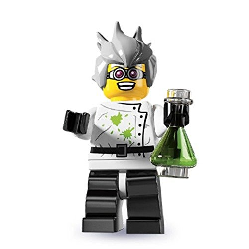 LEGO Series 4 Collectible Minifigure Crazy Mad Scientist by LEGO