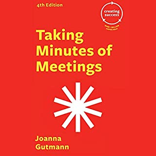 Taking Minutes of Meetings cover art
