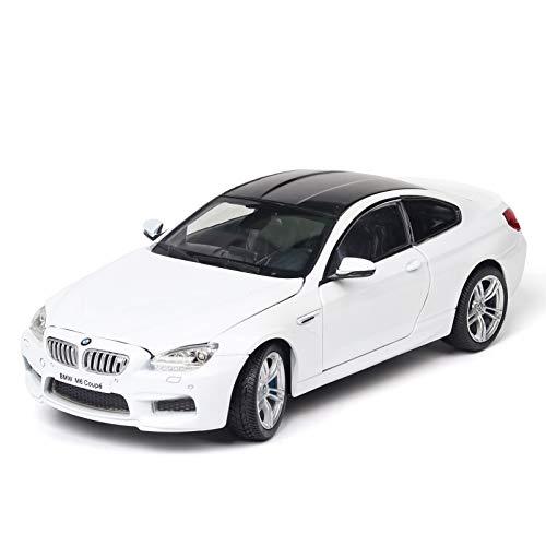 1:24 Simulación De Modelo De Coche para BMW-M6 Diecast Coche De Juguete Puerta De Vehículo Abierta Niños Colección De Coches Adorno Decoración Regalos De Cumpleaños Juguetes Colección