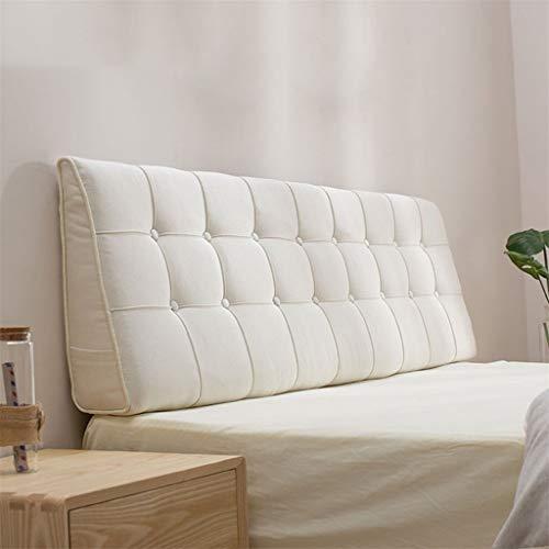 TP&DD Rückenlehne,große Bett Dreieckig Sitzkissen,weich Kopfteil-Kissen Gepolsterter Keil,lesen Kopfkissen Für Sofa-j 200x15x50cm(79x6x20inch)