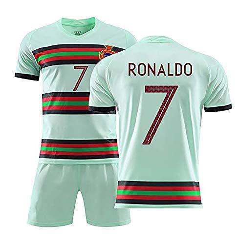 Portugal 7 Ronaldo Jersey, Uniformes Europea Selección Nacional de Fútbol, Aficionados al fútbol Camiseta, Regalos para él green-24