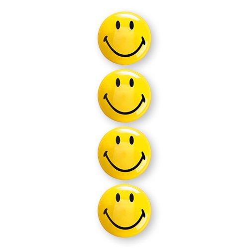 12 Stück Magnete Kühlschrankmagnete Smiley Grins Smile Magnet Set Dekomagnet